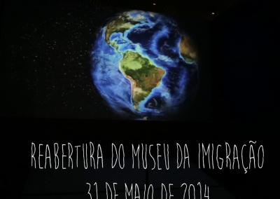 Reabertura do Museu do Imigrante